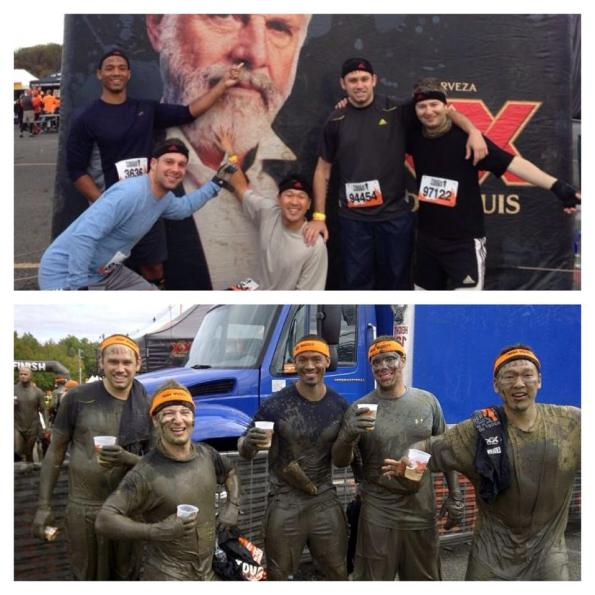Mudder 2013 Before and After