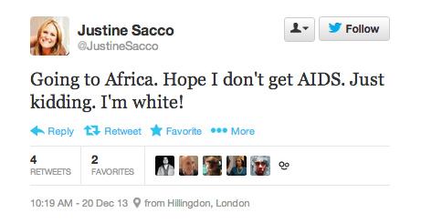 Sacco tweet image